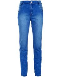 clochard denim trousers - Unavailable Mara Mac