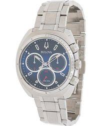 Bulova - Stainless Steel Watch - Lyst