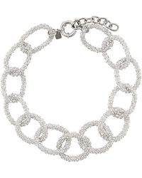 Ca&Lou - Gio' Chainlink Necklace - Lyst