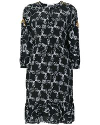Dorothee Schumacher - Printed Ruffle Hem Dress - Lyst