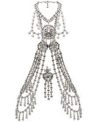 Gucci - Crystal Body Chain - Lyst
