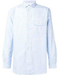 Natural Selection Studio Striped Shirt - Blue