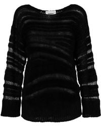 Dondup - Distressed Long-sleeve Sweater - Lyst