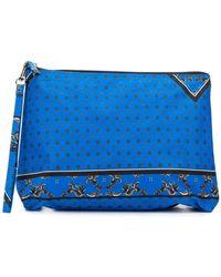 Ganni - Floral Print Makeup Bag - Lyst
