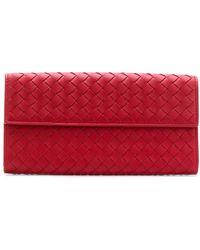 Bottega Veneta - Intrecciato Continental Wallet - Lyst