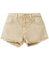 Dondup - Frayed Shorts - Lyst