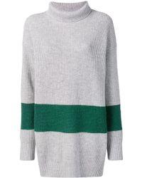 Calvin Klein - Contrast Stripe Jumper - Lyst