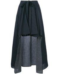 Chalayan - Draped Asymmetric Skirt - Lyst