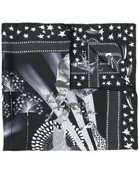 Ferragamo - Hollywood Movie Print Scarf - Lyst