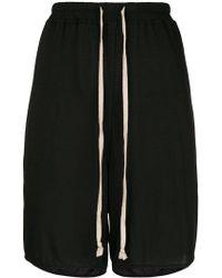 Rick Owens Lilies - Elasticated Drawstring Shorts - Lyst