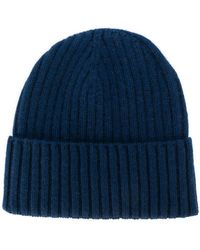 Dell'Oglio - Ribbed Knit Cashnere Hat - Lyst