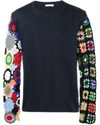 JW Anderson - Crochet Sleeve Jumper - Lyst