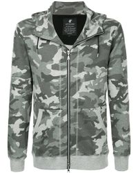Loveless - Camouflage Print Hoodie - Lyst