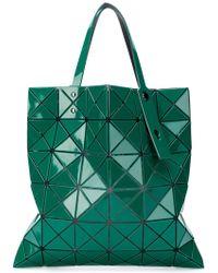 ff0498135d334 Bao Bao Issey Miyake Geometric Panel Tote Bag in White - Lyst