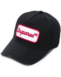 DSquared² - Logo Patch Cap - Lyst