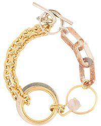 Wouters & Hendrix - Contrast Chain Bracelet - Lyst