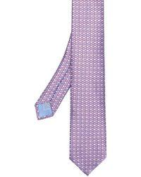 Brioni - Geometric Print Tie - Lyst