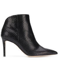 9788f8fe5d301 Giuseppe Zanotti - Pointed Toe Ankle Boots - Lyst