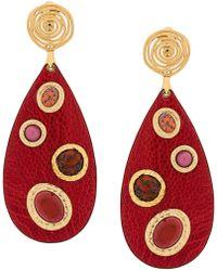 Gas Bijoux - Verone Clip-on Earrings - Lyst