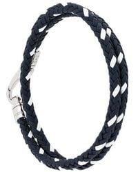 Tod's | Braided Bracelet | Lyst