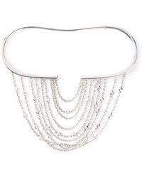 Gaydamak - Line Fountain Hand Bracelet - Lyst