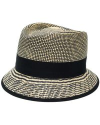Loro Piana - Checkered Weave Hat - Lyst