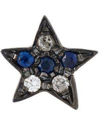 Carolina Bucci - 18kt Black Gold 'superstellar' Star Stud Earring - Lyst