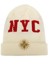 Fausto Puglisi - Nyc Beanie Hat - Lyst