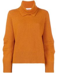 Dorothee Schumacher - Ribbed Roll Neck Sweater - Lyst
