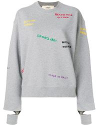 Ports 1961 - Embroidered Sweatshirt - Lyst