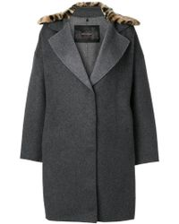 Ash | Boxy Coat | Lyst