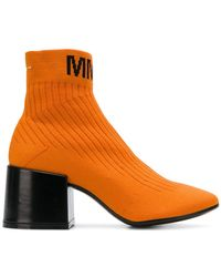 MM6 by Maison Martin Margiela - Flare Sock Boots - Lyst