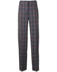 Cedric Charlier - Pantalon de costume à carreaux - Lyst