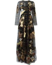 Valentino - 'kimono 1997' Evening Dress - Lyst