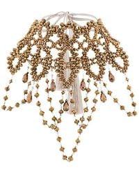 Night Market | Beaded Oversized Choker Necklace | Lyst