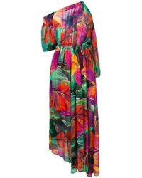 ebadb9ce0e8b Tropical Print Dresses - Women's Designer Tropical Print Dresses - Lyst