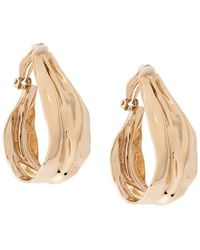 Annelise Michelson - Draped Clip-on Earrings - Lyst