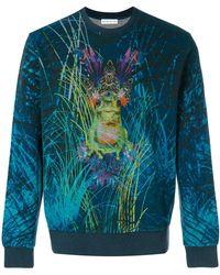 Etro - Frog Print Sweatshirt - Lyst