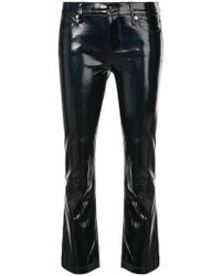 RTA - Cropped Varnished Trousers - Lyst