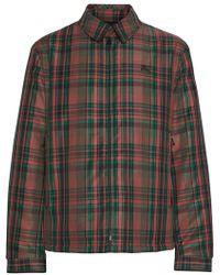 Burberry - Fleece-lined Check Harrington Jacket - Lyst