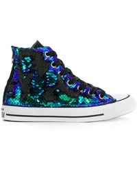 Converse - Chuck Taylor All Star Sequins Hi-top Trainers - Lyst