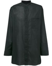Haider Ackermann - Oversized Shirt - Lyst