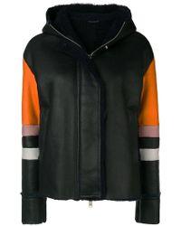Iceberg - Colour Block Hooded Jacket - Lyst