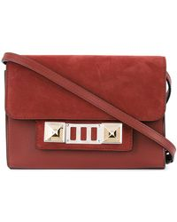 Proenza Schouler - Nubuck Ps11 Wallet With Strap - Lyst