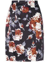 Theory - Hourglass High Waist Skirt - Lyst
