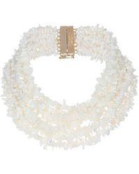 Rosantica - White Fato Stone Necklace - Lyst