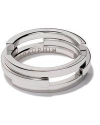 Maison Dauphin - 18kt White Gold C3v Volume Ring - Lyst