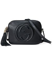 Gucci - Soho Small Leather Disco Bag - Lyst cdb0557a90fb2