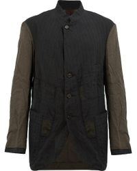 Ziggy Chen - Contrast Sleeves Jacket - Lyst