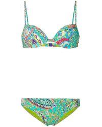 Etro - Paisley Collage Bikini - Lyst